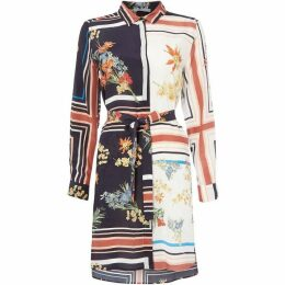 Marella Soffio long sleeve shirt dress