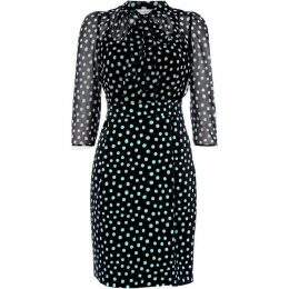 Marella Gnomo dress with neck tie