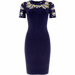 MICHAEL Michael Kors Flower embroidered dress