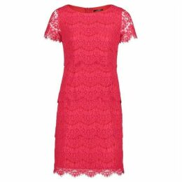 Vera Mont Short Sleeved Lace Dress