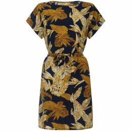Mela Floral Print Tunic Dress