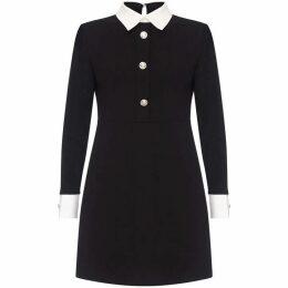 Mela Long Sleeve Button Dress