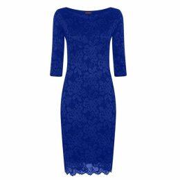 HotSquash Long Sleeved Lace Dress With Thinheat