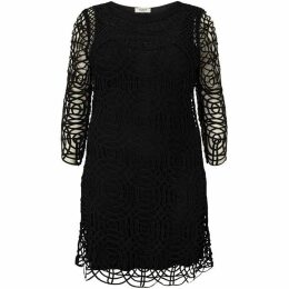 Studio 8 Plus Size Martina tapework dress