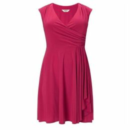 Studio 8 Plus Size Pearl wrap dress