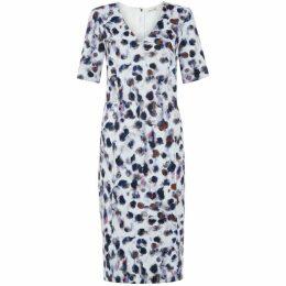 Damsel in a Dress Snow Leopard Dress