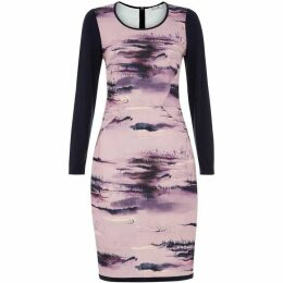 Damsel in a Dress Damson Dusk Print Dress