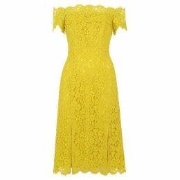 Whistles Off Shoulder Lace Dress