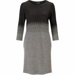 James Lakeland Micro Degrade three quarter Sleeve Dress