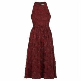 Whistles Applique Textured Dress