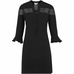 Whistles Jerry Lace Panel Dress