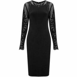 Havren Paige Lace Sleeve Dress