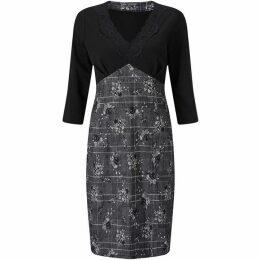 James Lakeland Print Lace Dress