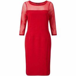 James Lakeland Sheer Sleeve Dress