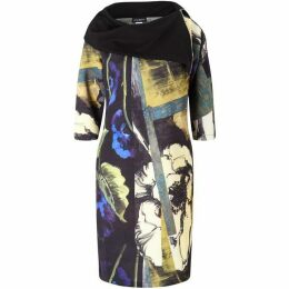 James Lakeland Printed Zip Neck Dress