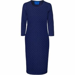 Winser London Broderie Anglaise Dress With Jersey Back