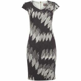 Phase Eight Effie Zip Back Diamond Dress