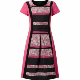 James Lakeland Block Stripe Dress