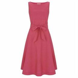 Havren Zara Cotton Belt Dress