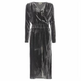 Twist and Tango Lilya Velvet Wrap Dress