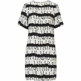 Betty Barclay Ostrich print dress
