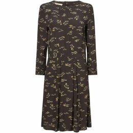 Sessun Floral printed dress with three quarter sleeves