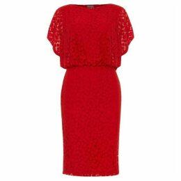 Phase Eight Sandra Spot Burnout Dress