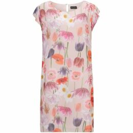 James Lakeland Floral Cold Shoulder Dress