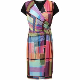James Lakeland Graphic Print Zip Dress