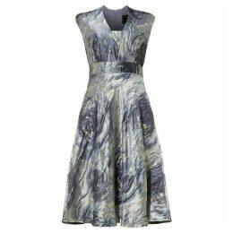 Phase Eight Honey Rose Jacquard Dress
