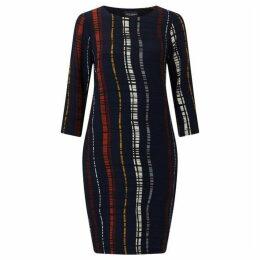 James Lakeland Stripe Print Dress