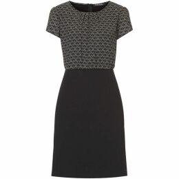Betty Barclay Print and plain dress