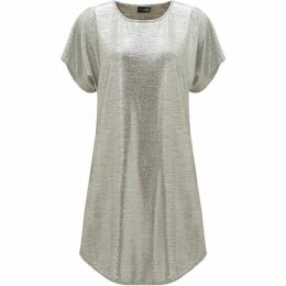 James Lakeland Metallic Tunic Dress