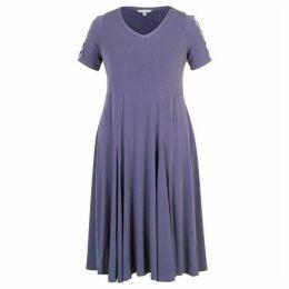 Chesca Criss Cross Sleeve Jersey Dress