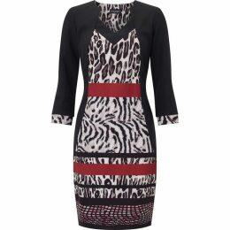 James Lakeland Animal Print Dress
