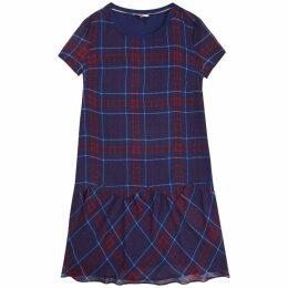 Tommy Jeans Check Peplum Dress
