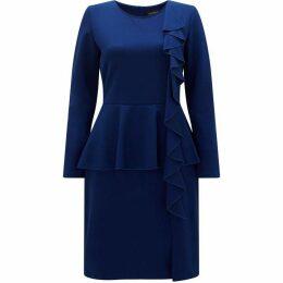 James Lakeland Ruffle Peplum Dress