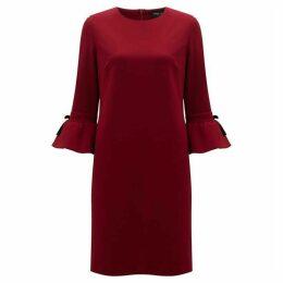 James Lakeland Ruched Sleeve Dress