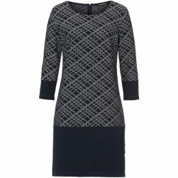 Betty Barclay Graphic Textured Dress
