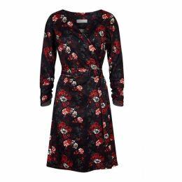 Havren Kylie Printed Wrap Dress