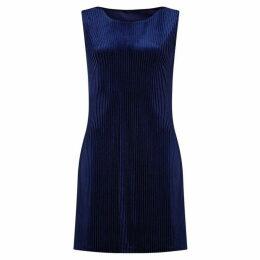 Mela Sleeveless Corduroy Tunic Dress