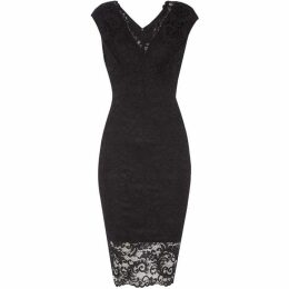 Sistaglam loves Jessica Lace Top Bodycon Dress