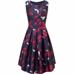 James Lakeland Print Sleeveless Dress