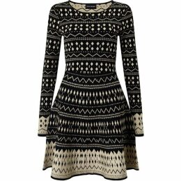 James Lakeland Patterened Knit Dress