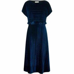 Havren Annette Crushed Velvet Dress