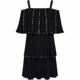 Ted Baker Meltea Pleated Tiered Dress