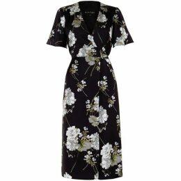 Phase Eight Tasha Floral Wrap Dress