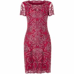 Phase Eight Talia Embroidered dress