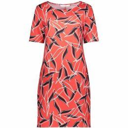 Betty Barclay Graphic Print Jersey Dress