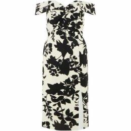 Bardot Floral off shoulder dress